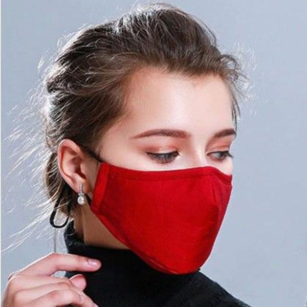 Kit c/ 5 mascaras de tecido - lavável e reutilizável