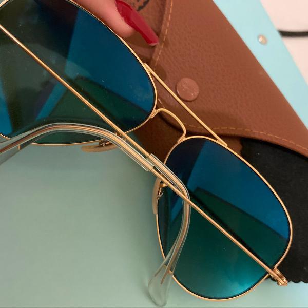 Oculos solar ray ban aviador rb3025 112/17