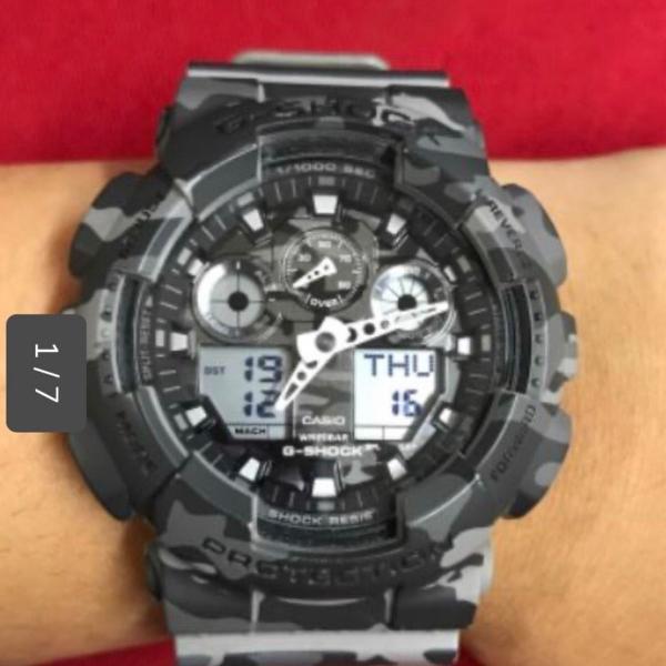 Relógio g-shock original analógico e digital