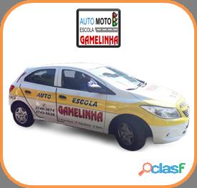 Auto Moto Escola Gamelinha trabalha na formação de condutores. 6