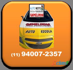 Auto Moto Escola Gamelinha trabalha na formação de condutores. 7