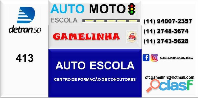 Auto Moto Escola Gamelinha trabalha na formação de condutores. 14