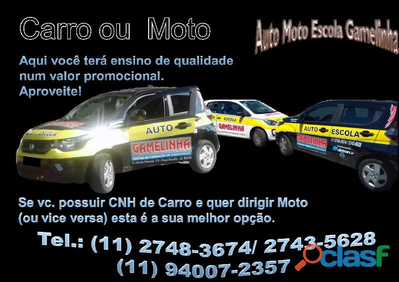 Auto Moto Escola Gamelinha trabalha na formação de condutores. 17