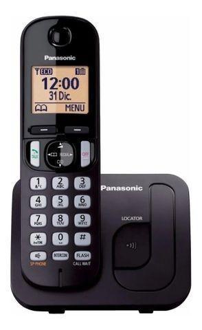 2 telefones sem fio panasonic - viva voz - base e ramal