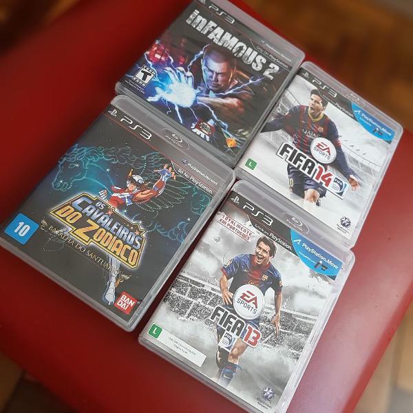 4 jogos do playstation 3
