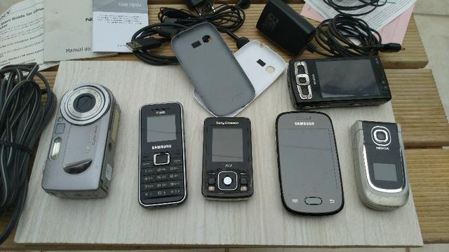 Aparelho celular usado (lote)