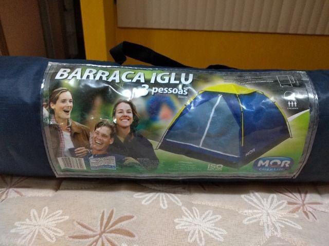 Barraca camping iglu-semi nova