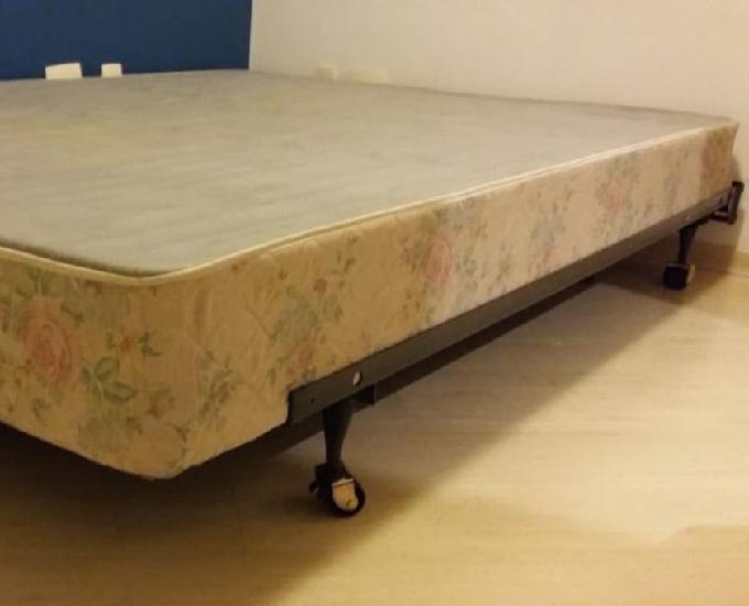 Base cama box queen