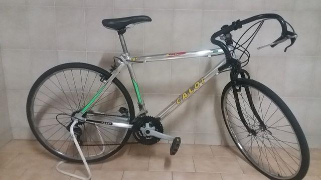 Bicicleta caloi speed em aluminio especial 6061, pneus zeros