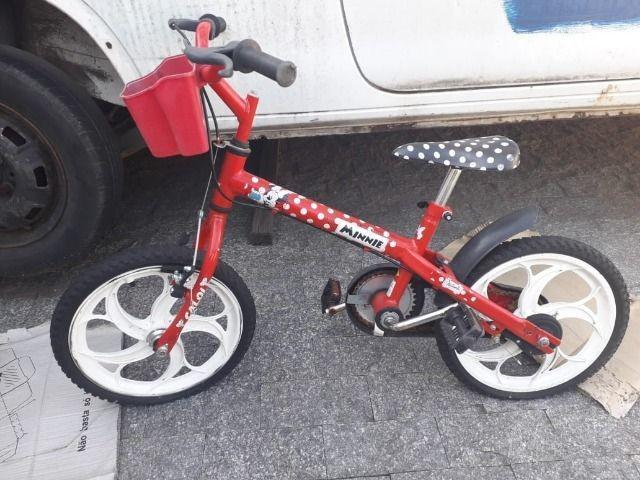 Bicicleta infantil aro 16 caloi minney