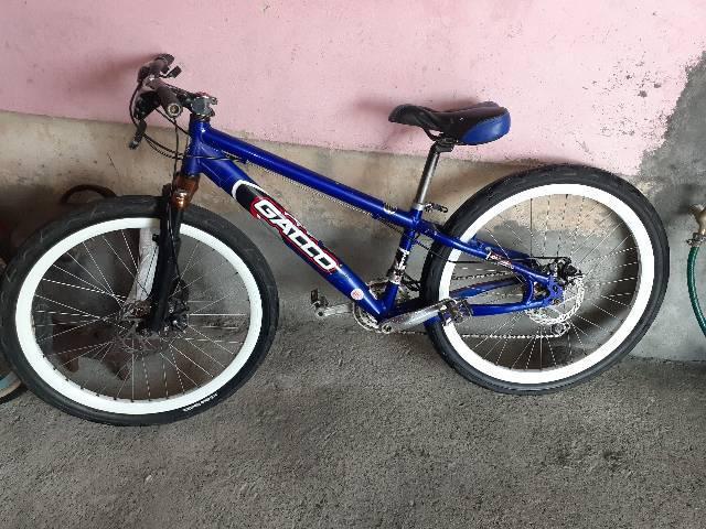 Bicicleta gallo aro 26 freios a disco gts conservada