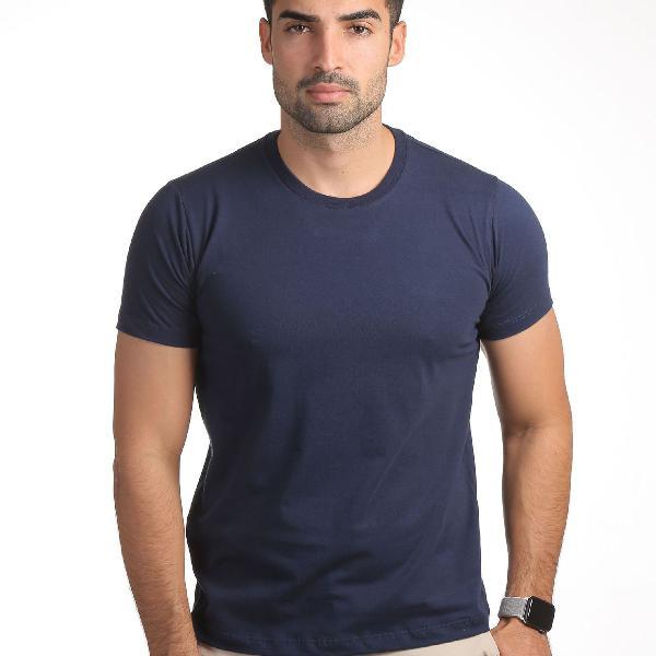 Camiseta básica gola redonda