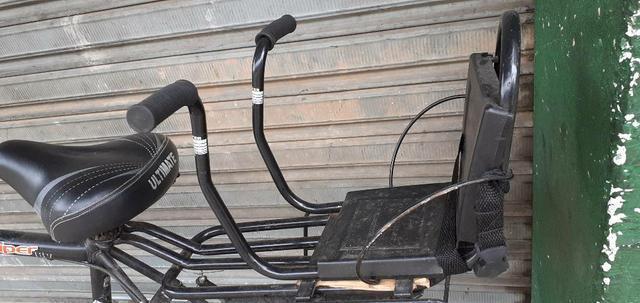 Cadeirinha bicicleta e bagageiro