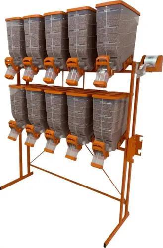 Dispenser porta ração e cereais 10x40 litros -durapets