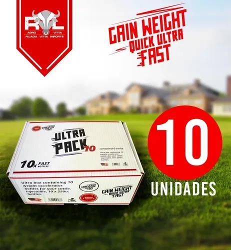 Gain weigth quick ultra fast 10 unidades original