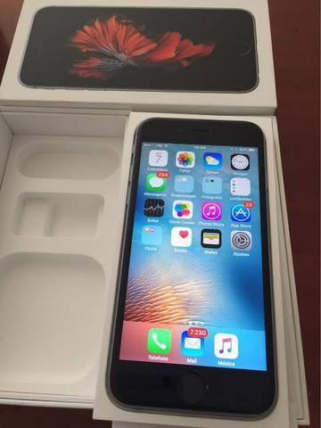 Iphone 6s 16gb anatel semi novo completo na caixa com todos