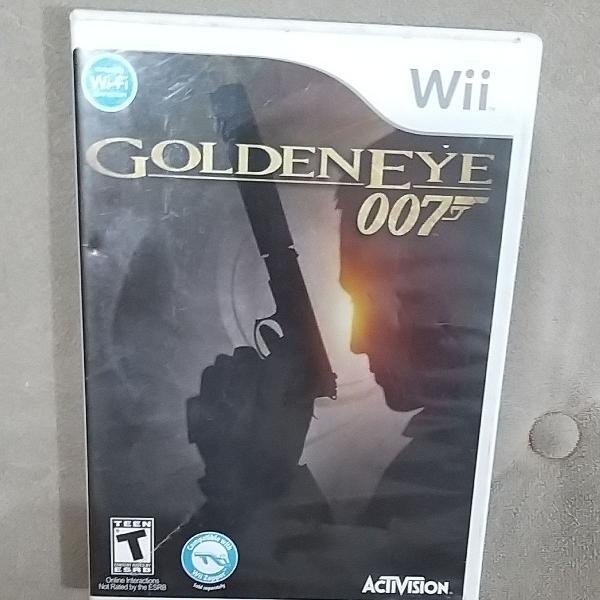 Jogo golden eye 007 - nintendo wii, original, completos com