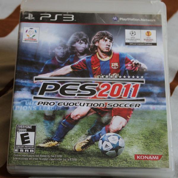 Jogo pes pro evolution soccer 2011 ps3
