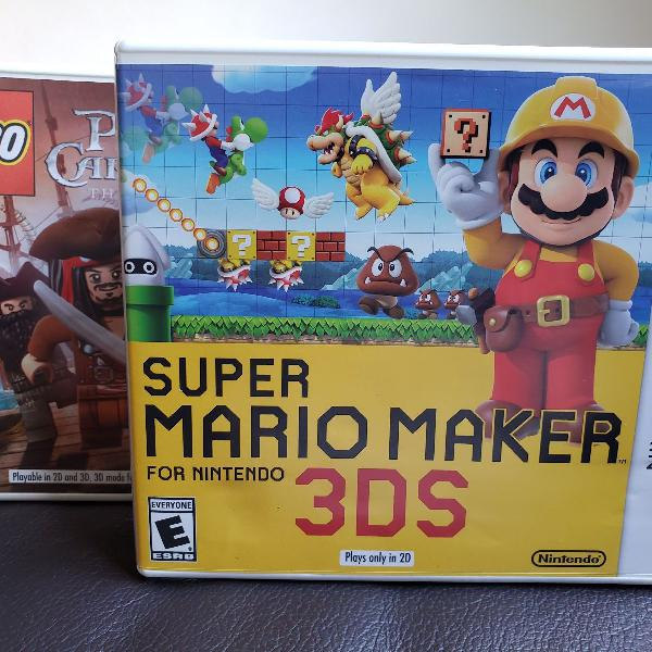 Jogos 3ds - mario e lego
