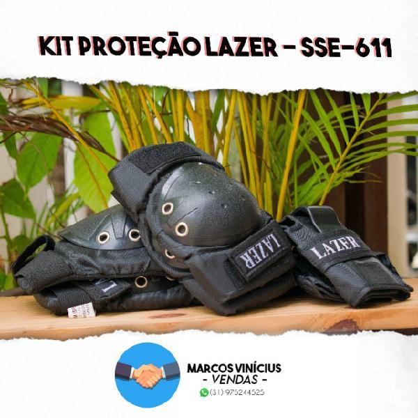 Kit proteção lazer novo