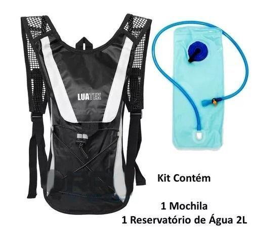 Mochila de hidratação com bolsa