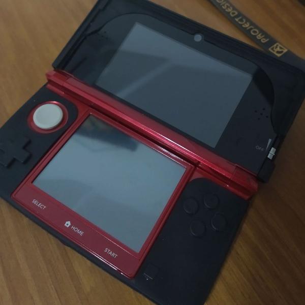 Nintendo 3ds vermelho perfeito original