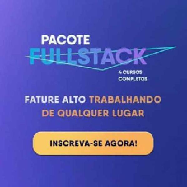 Pacote full stack
