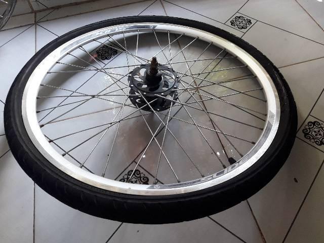 Roda traseira aro 26 reduzido com catraca por 50 reais