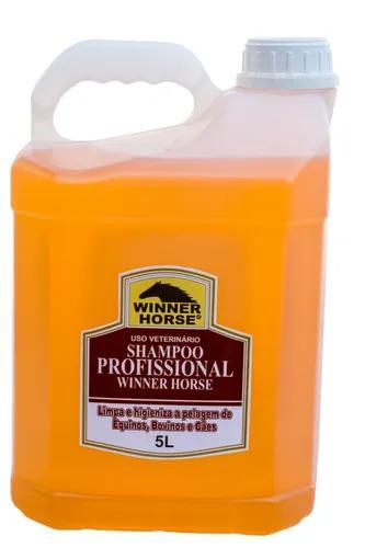 Shampoo profissional 5 lts. - winner horse