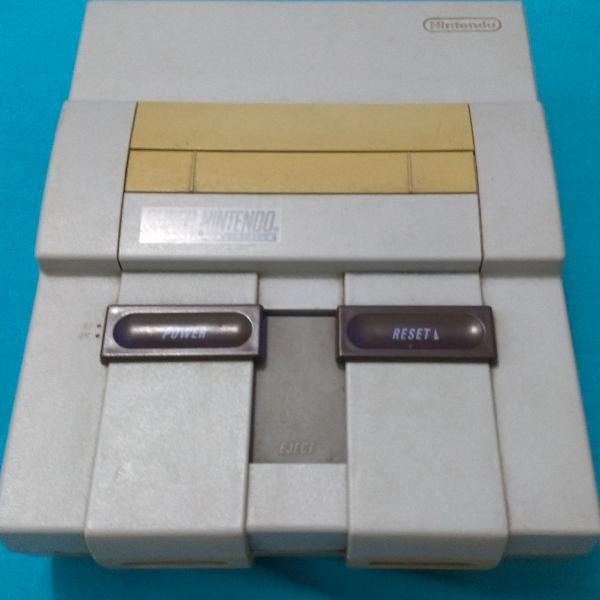 Super nintendo original console snes