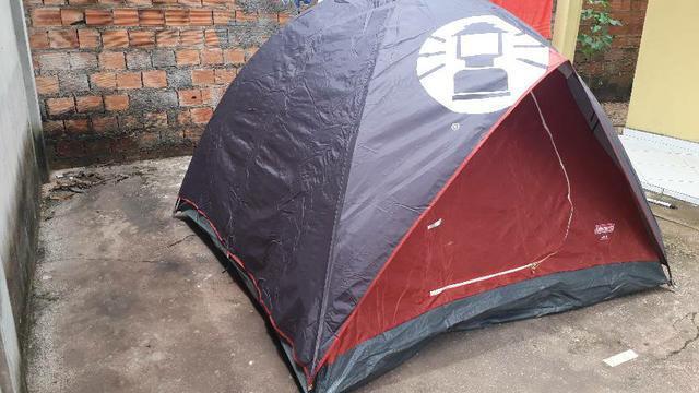 Vendo barraca de camping coleman lx3. para 3 pessoas.
