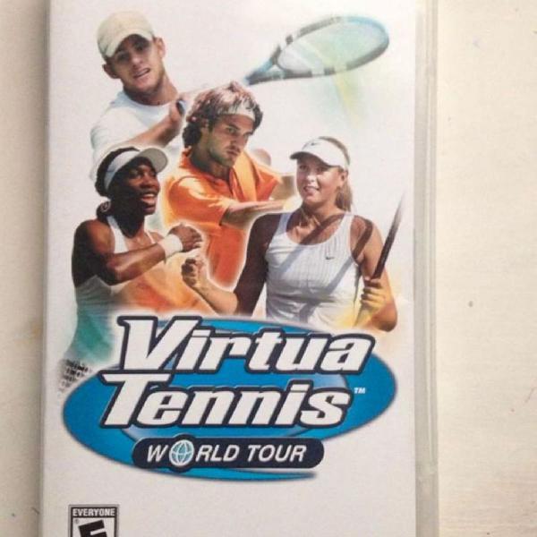Virtua tennis world tour psp completo sony sega r$79