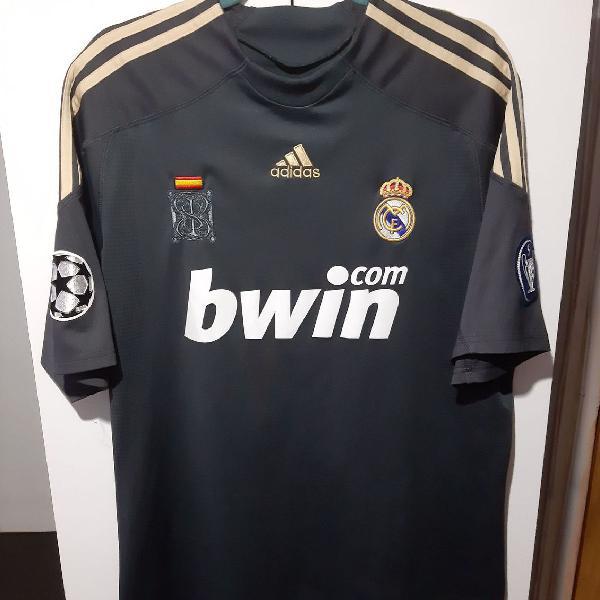 Camisa real madrid 2009/2010 champions league uniforme 2