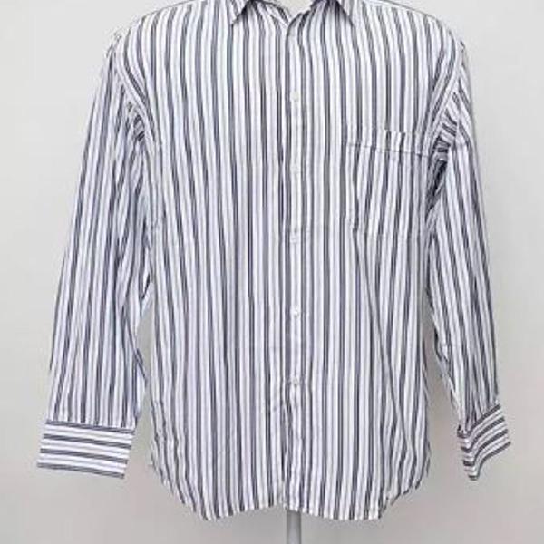 Camisa masculina listrada canali