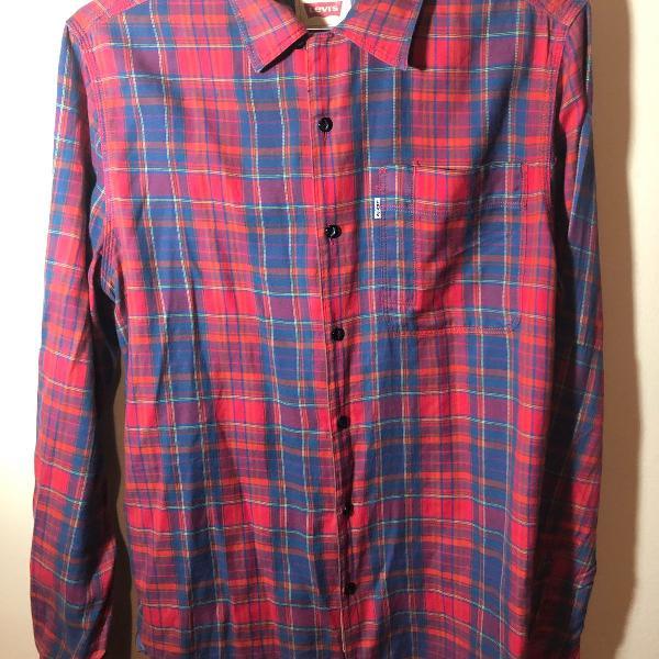 Camisa xadrez levis - tamanho p