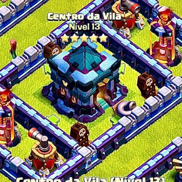Castelo clash of clans cv 13