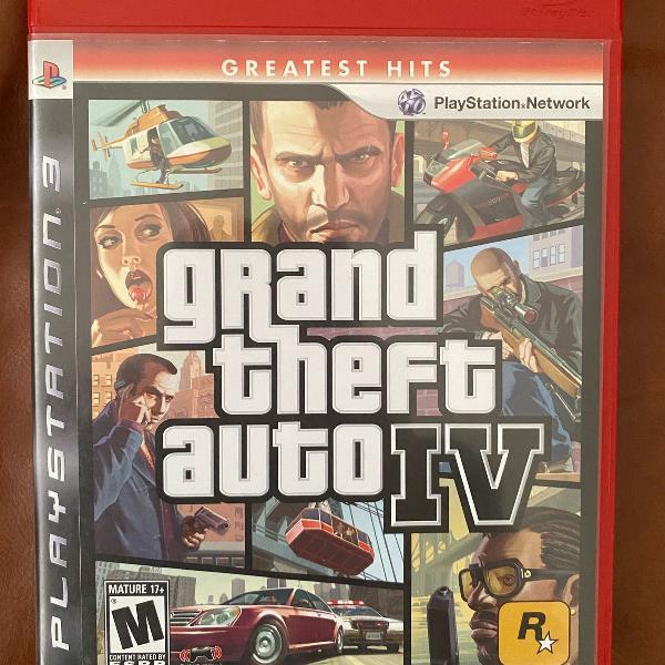 Conjunto com 4 jogos originais para playstation 3