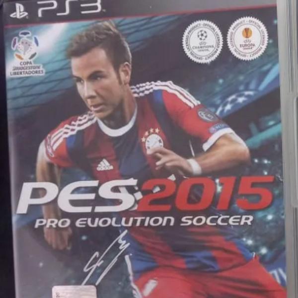 Jogo ps3 pes 2015 pro evolution soccer