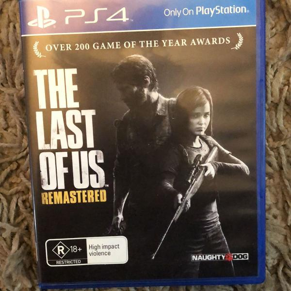 Jogo ps4 the last of us