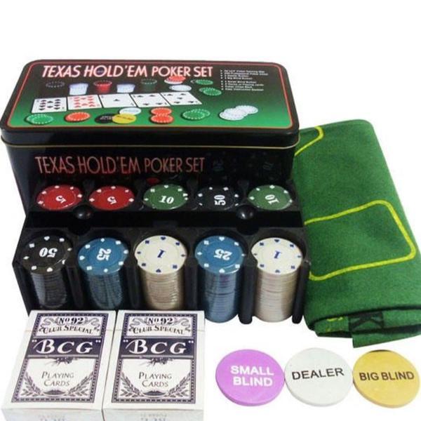Kit completo - poker (novo)