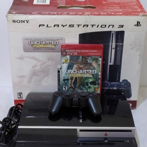 Playstation 3 fat 160gb black