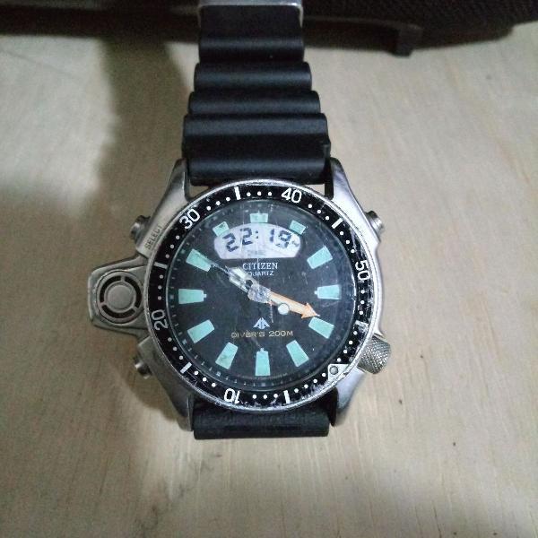 Relógio citizen promaster aqualand