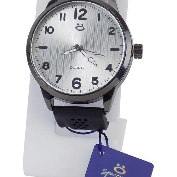 Relógio masculino analógico + caixa