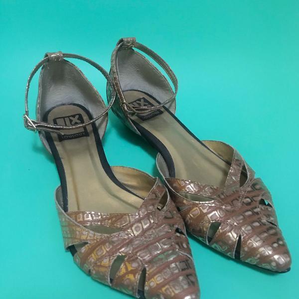 Sapatilha salto baixinho louloux shoes
