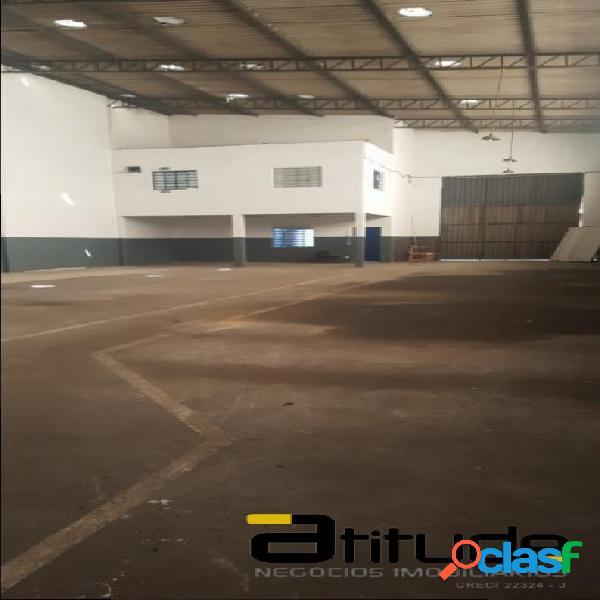 Galpão para alugar 940 m2 chácara marco barueri