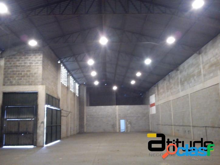 Galpão de 807 m² p/ locação industrial chácara marco barueri
