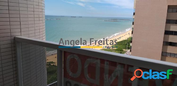 Apartamento de 3 quartos com 1 suite com vista mar na praia da costa