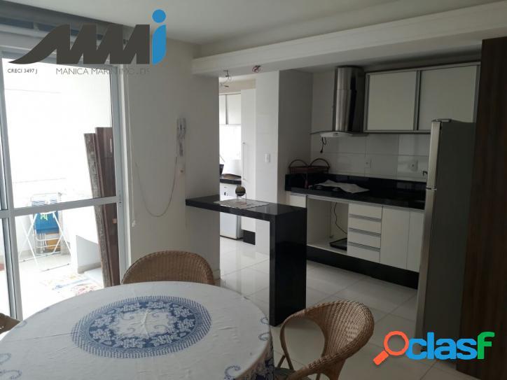 Apartamento 3 dormitórios mobiliado com 95m - Quadra Mar Nav 2
