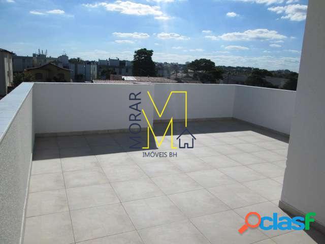 Cobertura 3 quartos - copacabana em belo horizonte/mg