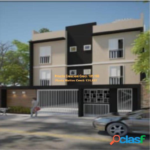 Apartamento sem condomínio na vila guiomar - santo andré - em obra